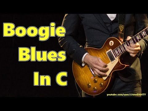 Boogie Blues In C 12 Bar Blues Jam Track In C Youtube Blues Guitar Guitar Songs Backing Tracks