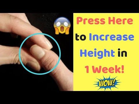 Acupressure Points for Height Increase After 25 - Increase