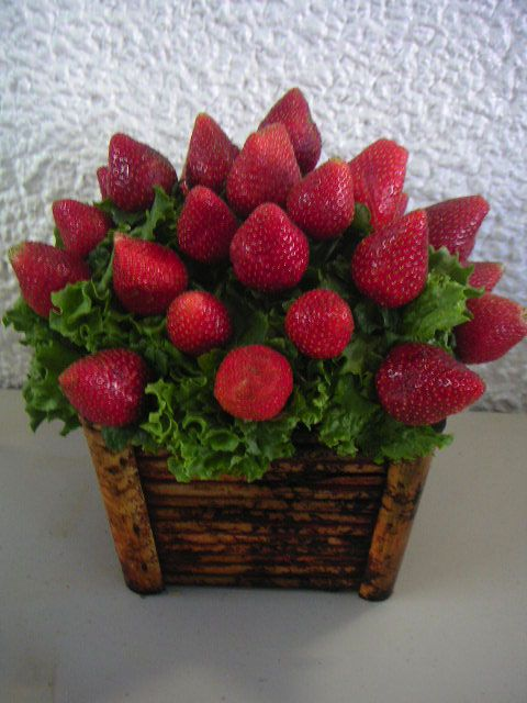 Edible Arrangements Flower And Strawberry Flower On Pinterest