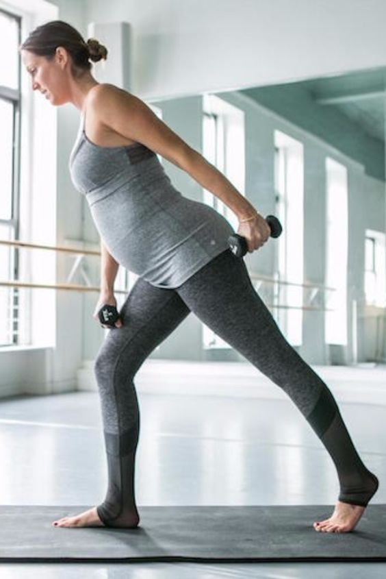 Fitness Myth: The only workout you can do while pregnant is Pilates