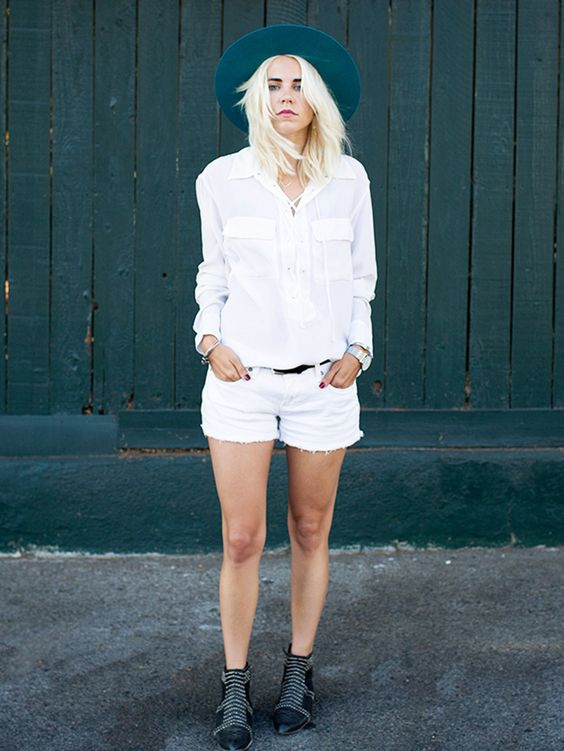 Meet the Simple White Blouse That's Having a Major Moment via @WhoWhatWearUK