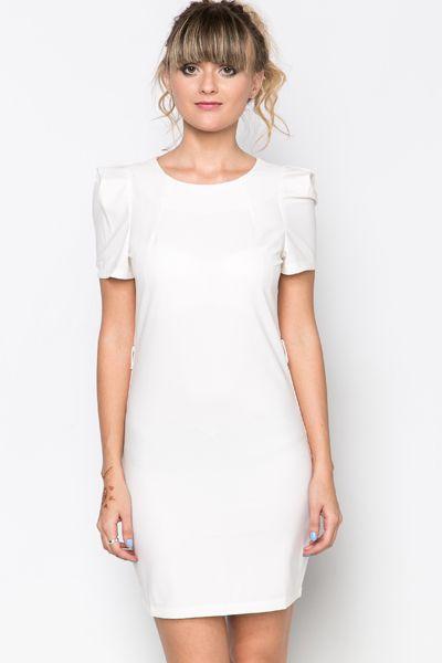 Pleat Sleeve Dress @ Everything5pounds.com