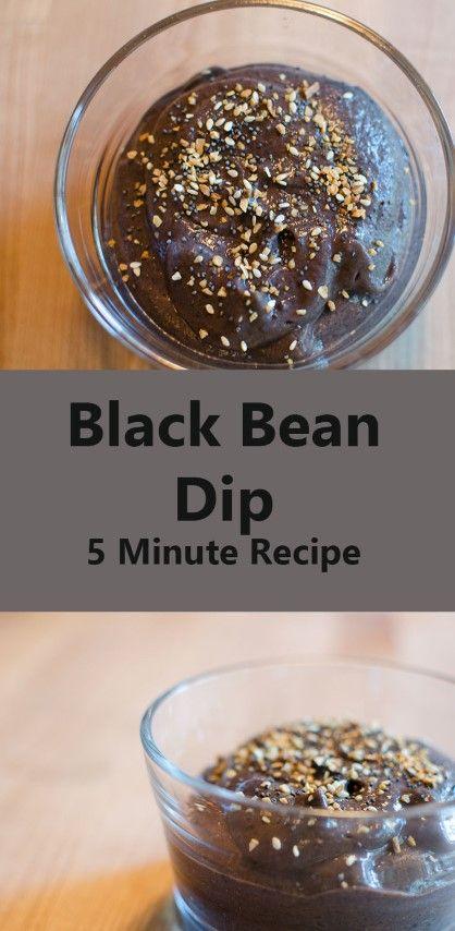 Black bean dip, Bean dip and Black beans on Pinterest