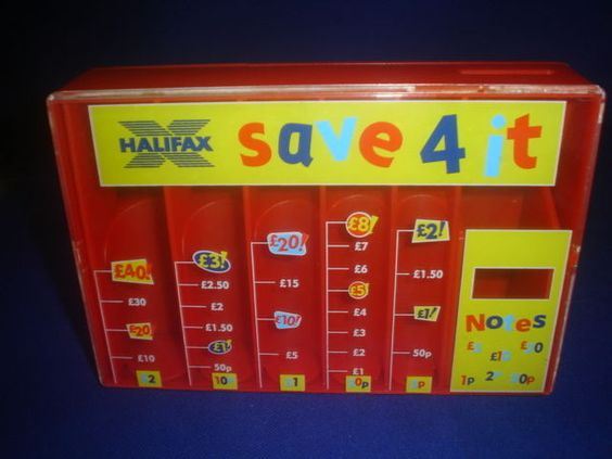Halifax kids red save for it coin sorter money box piggy bank parenting advice pinterest - Coin sorting piggy bank ...