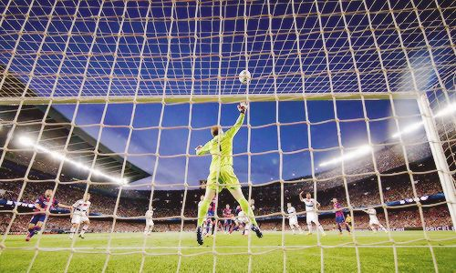 He couldn't stop that one - I don't know that I have ever been so excited for Messi to score on any other goalkeeper