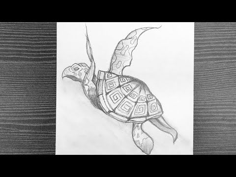 Pin By Enrich Minds On Sea Turtle In 2021 Pencil Drawings Pencil Sketch Step By Step Drawing