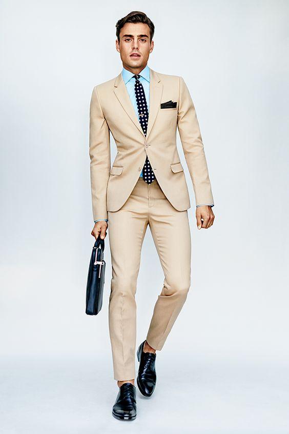 Slim suit: