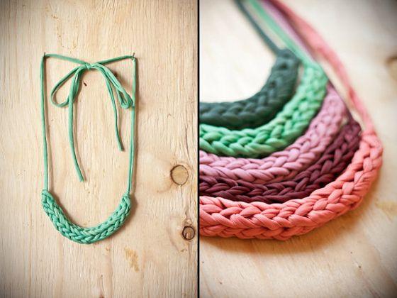 idiot cord necklaces