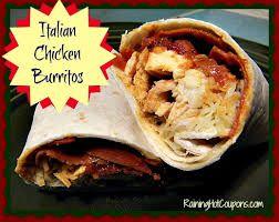 Italian Burrito as Main