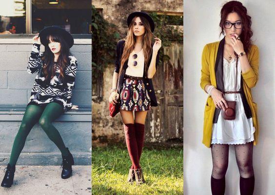 Must have para o inverno: Meia e meia-calça! - Moda it