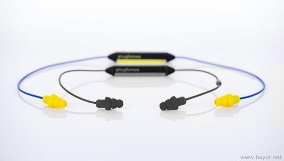 Plugfones: Müzik Çalan Bluetooth Kulak Tıkacı