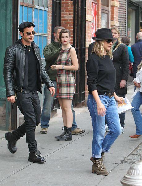 Jennifer Aniston and Justin Theroux | Jennifer Aniston et Justin Theroux : on jette. Depuis quand (et pour ...