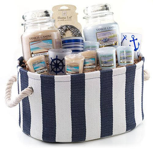 Beach Lover's Maritime Gift Basket : Gift Set : Yankee Candle ...