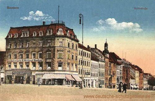 Bautzen Steinstrasse Bautzen Konigreich Sachsen Sachsen