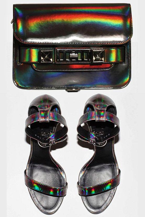#Tendencia futurista: Efecto #holografico