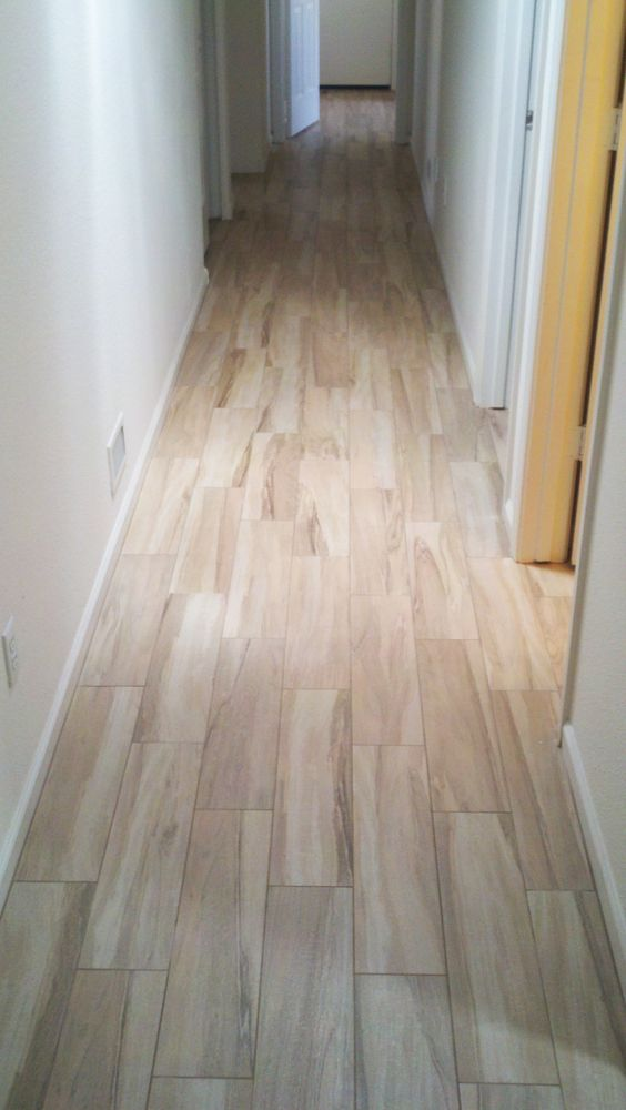 Porcelain Wood Tile Tiles And Wall Paintings On