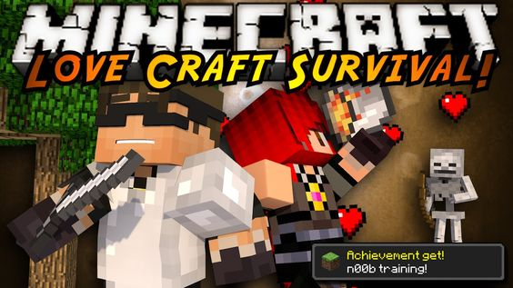 Minecraft LoveCraft Survival : TIME TO CHALLENGE US! (OMG THEY'RE SO CUTE AND PERFECT FOR EACH OTHERRRRR)
