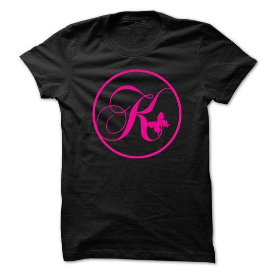 Initial K T-Shirts, Hoodies. BUY IT NOW ==► https://www.sunfrog.com/LifeStyle/Initial-K.html?id=41382