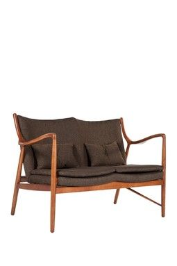 HauteLook | Mid Century Classics From Control Brand: Esjberg Two Seater - Dark Brown 61% off