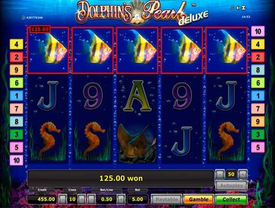 dolphins pearl deluxe slot machine