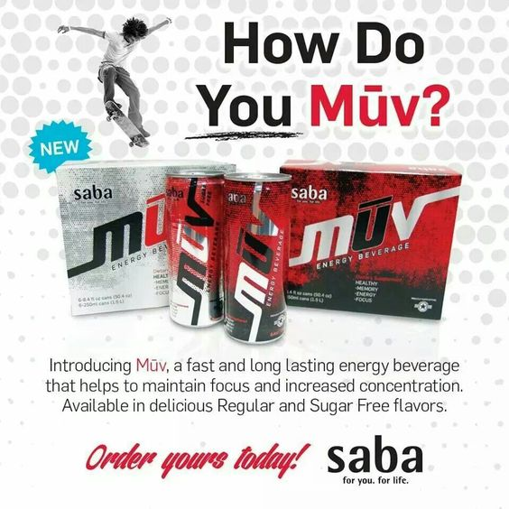 Healthy Energy drinks!!!  www.sabaforlife.com/MichelePeterson