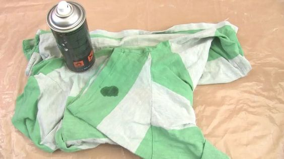 Titel afbeelding Remove Oil Based Stains from Fabrics Step 4 preview
