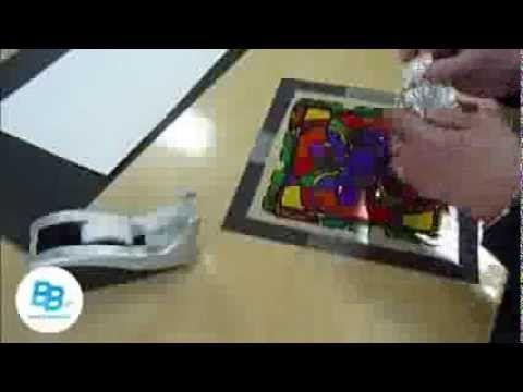 Activités artistiques Brault & Bouthillier : Mandala vitrail A-28 - YouTube