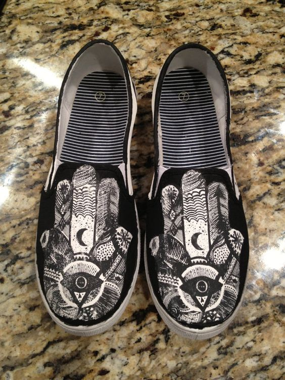 Jamie Anderson's Holiday Wishlist: Hindu Hand inspired shoes from Etsy