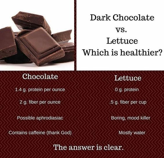 Which is healthier :)  #Dove #Chocolate ❣❣❣ #DoveChocolate #GourmetChocolate #ChocolateLover