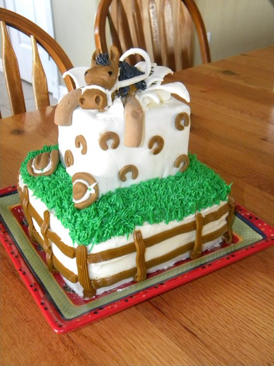 horse cakes - Google Search