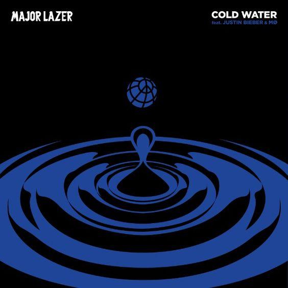 Major Lazer, Justin Bieber, MØ – Cold Water (single cover art)