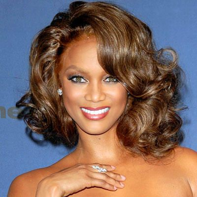Remarkable Vintage Style Style And Tyra Bank On Pinterest Short Hairstyles Gunalazisus