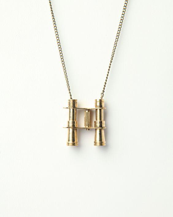 Love Nail Tree Binoculars Necklace | Style | Pinterest | Trees ...
