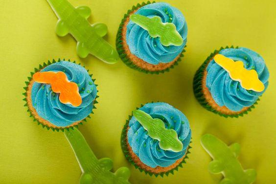 Alligator Cupcakes Création : LITTLE - Petits Gâteaux Crédit photo : Asphodel