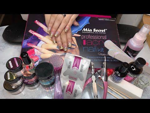 3479 Acrylic Nails Kit For Beginner Mia Secret Kit Supplies Needed To Do Nails Youtube Acrylic Nail Kit Acrylic Nail Supplies Diy Acrylic Nails Kit
