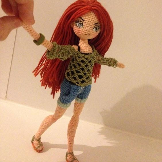 Knitting Inspiration Instagram : Modern crochet doll амигуруми pinterest knitting