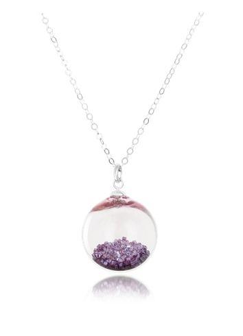 Antica Murrina Shine - Murano Glass Pendant with Sterling Silver Chain