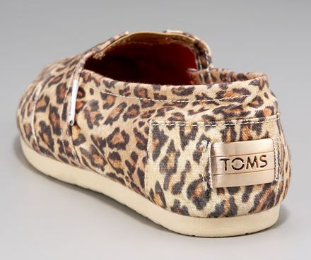 Leopard-Print TOMS. I usually don't like these shoes but I love these!