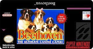Beethoven...pésimo juego.