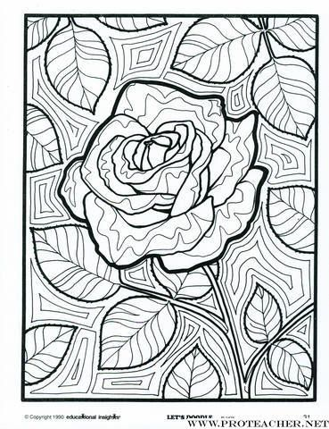 Roses Doodles And Stained Glass On Pinterest