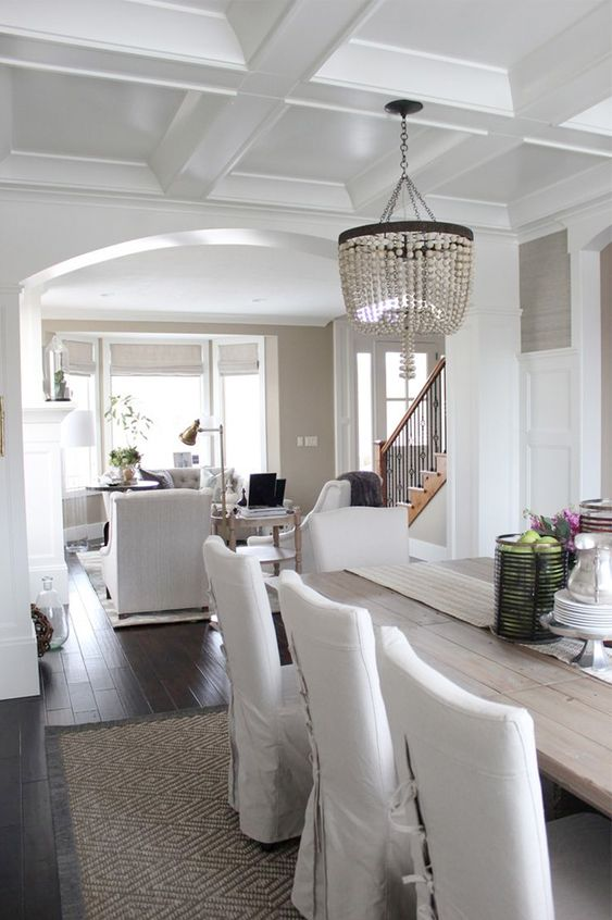 Pawleys island posh dining room progress inspiration Pretty dining rooms