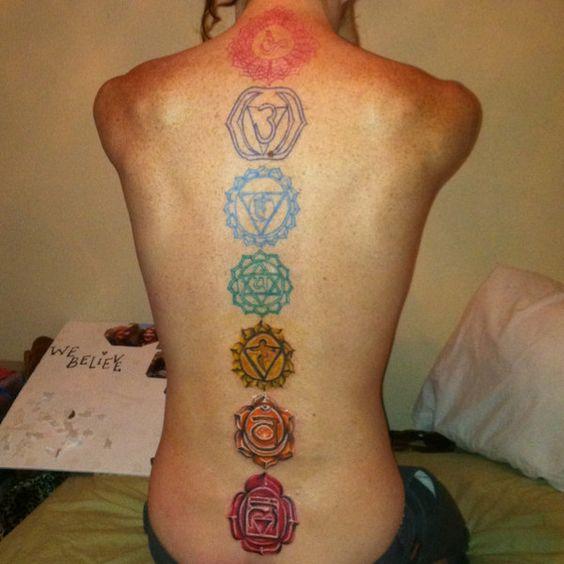 Resultado de imagen para tatuajes chakras