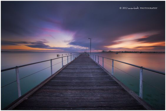 Infinity by Dylan Toh, via Flickr Port Lincoln Jetty, South Australia