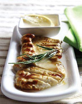 Cocina ligera, Pechugas de pollo con salsa de limón
