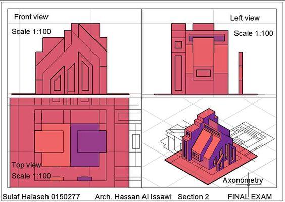 Sulaf Sami Halasehالرسم والاظهار المعماري (Arch. Drawing & Representation: