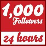 Buy Pinterest followers | 1,000 followers in 24 hours for only $59. http://www.buypinterestfollowers.us
