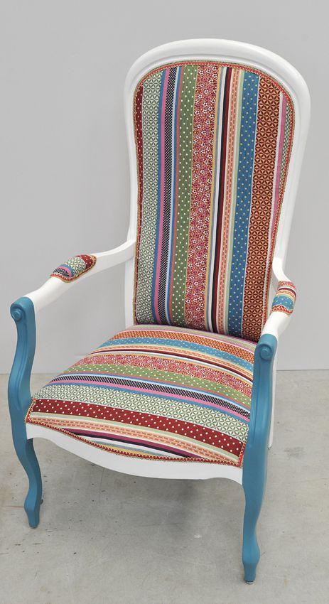 fauteuil voltaire par atelier d 39 co solidaire chairs. Black Bedroom Furniture Sets. Home Design Ideas