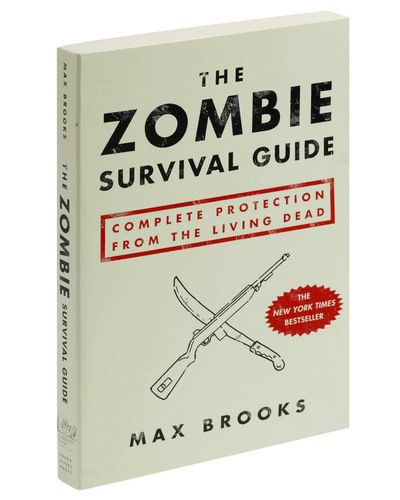 The Zombie Survival Guide- Zack seriously bought this book and it's one of the few books he's actually read.