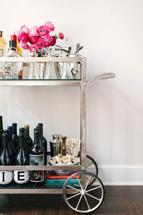 25 Creative Built-In Bars and Bar Carts