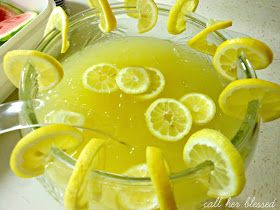 Call Her Blessed: Pineapple Lemonade Punch